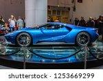 frankfurt   sept 2015  ford gt... | Shutterstock . vector #1253669299