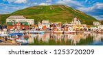 scenic view of the historic... | Shutterstock . vector #1253720209