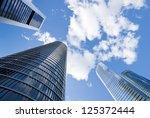 skyscrapers. skyscrapers view... | Shutterstock . vector #125372444