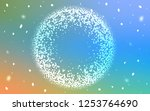 light blue  yellow vector...   Shutterstock .eps vector #1253764690