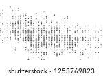 light silver  gray vector... | Shutterstock .eps vector #1253769823