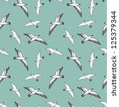 seamless vector pattern with... | Shutterstock .eps vector #125379344