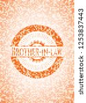 brother in law orange tile... | Shutterstock .eps vector #1253837443