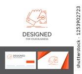 business logo template for... | Shutterstock .eps vector #1253902723