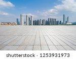 panoramic skyline and modern... | Shutterstock . vector #1253931973