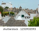 trulli houses roofs in main...   Shutterstock . vector #1253933593