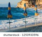 tropea town beach  calabria ...   Shutterstock . vector #1253933596