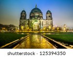 Stock photo berliner dom is the colloquial name for the supreme parish and cathedral church in berlin is 125394350