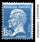 france   circa 1923  a stamp... | Shutterstock . vector #125395940
