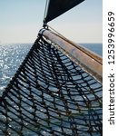 Bow Of A Sailship On The Open...