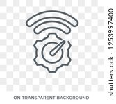network optimization icon.... | Shutterstock .eps vector #1253997400