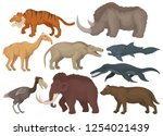 flat vector set of different... | Shutterstock .eps vector #1254021439