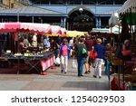 rouen  france   september 9... | Shutterstock . vector #1254029503