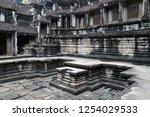 siem reap  kingdom of cambodia  ... | Shutterstock . vector #1254029533