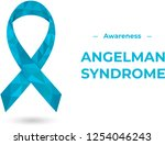 angelman syndrome  happy puppet ... | Shutterstock .eps vector #1254046243