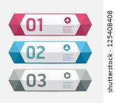 modern design template   can be ... | Shutterstock .eps vector #125408408