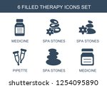 6 therapy icons. trendy therapy ...   Shutterstock .eps vector #1254095890