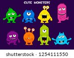 vector collection of cute...