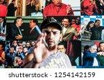 caracas  venezuela   20 june... | Shutterstock . vector #1254142159