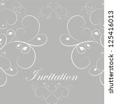 perfect for invitations and... | Shutterstock .eps vector #125416013