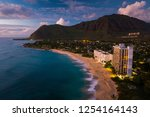 papaoneone beach on the west...   Shutterstock . vector #1254164143