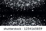 christmass winter background.... | Shutterstock .eps vector #1254165859