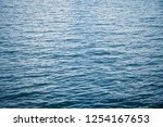 water waves background | Shutterstock . vector #1254167653