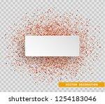 celebrate banner. red bright...   Shutterstock .eps vector #1254183046