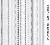 chain pattern | Shutterstock .eps vector #125425586