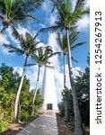 miami key biscayne cape florida ... | Shutterstock . vector #1254267913