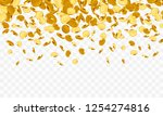 falling from the top a lot of... | Shutterstock .eps vector #1254274816