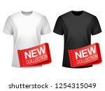 men t shirt new collection | Shutterstock . vector #1254315049