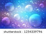 light pink  blue vector layout... | Shutterstock .eps vector #1254339796