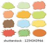 speech bubbles speech balloon   Shutterstock .eps vector #1254343966