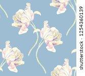 Pastel Tulips Flowers...