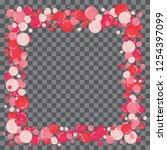 vector shape confetti splash....   Shutterstock .eps vector #1254397099