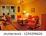stockholm  sweden   november 18 ... | Shutterstock . vector #1254398626