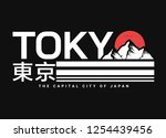 Tokyo typography graphic design, for t-shirt prints, posters and other uses.