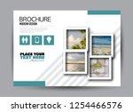 flyer  brochure  billboard... | Shutterstock .eps vector #1254466576