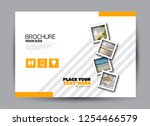 flyer  brochure  billboard... | Shutterstock .eps vector #1254466579