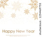 merry christmas and happy new... | Shutterstock .eps vector #1254469753
