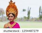 denpasar  bali island ... | Shutterstock . vector #1254487279