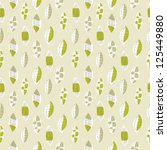 seamless pattern seasonal... | Shutterstock .eps vector #125449880