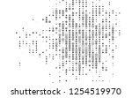 light silver  gray vector... | Shutterstock .eps vector #1254519970