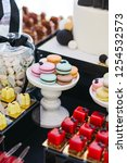 festive candy bar serving.... | Shutterstock . vector #1254532573