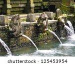 Balinese Bathing Pool Fountains