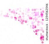 bubbles circle dots unique pink ...   Shutterstock .eps vector #1254562546