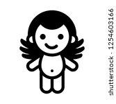 love symbol. valentine's day...   Shutterstock .eps vector #1254603166