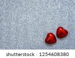 valentines day background ... | Shutterstock . vector #1254608380