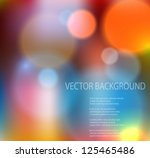abstract colorful background.... | Shutterstock .eps vector #125465486
